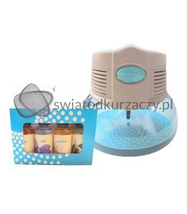 Nawilżacz-jonizator powietrza Rainbow RainMate biały 1L podświetlany + zapachy