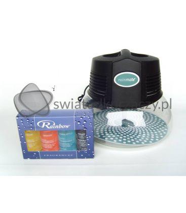 Nawilżacz-jonizator powietrza Rainbow RainMate czarny 1L podświetlany + zapachy